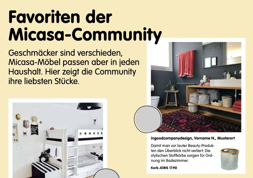 Good Press – Micasa Spring Flyer